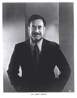 Dr. Haim Ginott, child psychologist and author